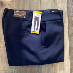 2/$25 Hilary Radley Straight Leg Navy Dress Pant.